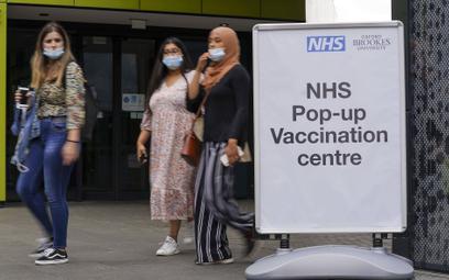 Wielka Brytania: Ponad 35 tys. przypadków, 180 zgonów. Najwięcej zaszczepionych od trzech tygodni