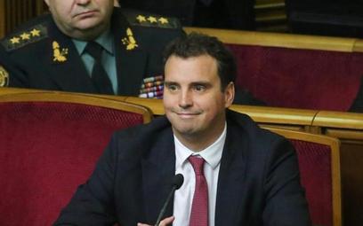 Litewski minister ukraińskiego rządu Aivaras Abromavičius