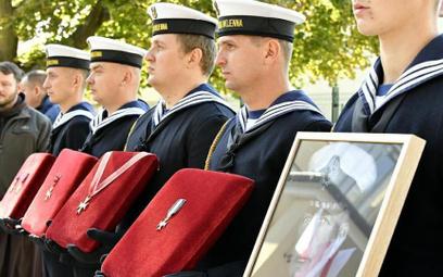 W Gdyni odbył sięponowny pochówek admirała floty Józefa Unruga