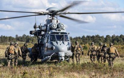 We francuskich siłach zbrojnych Caracale służą m.in. do wsparcia pododdziałów specjalnych. Fot./Armé