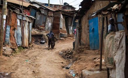 Slumsy w Nairobi