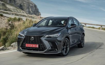 Lexus NX: Ulepszony i praktycznie w całości nowy