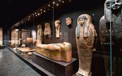 Galeria Sztuki Starożytnej Muzeum Narodowego wWarszawie. Przebudowa kosztowała 19mln zł