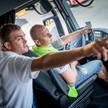 nauka jazdy kierowcy ciężarówki