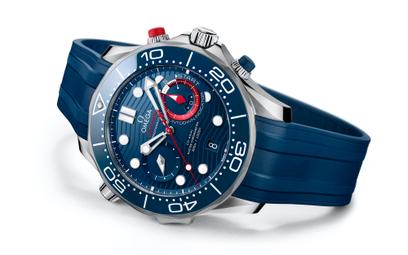 Omega Seamaster Diver 300 America's Cup: gotowy na ściganie