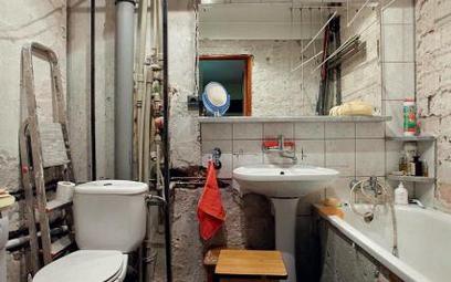 Łazienka przed remontem...