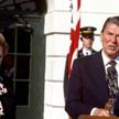 Premier Wielkiej Brytanii Margaret Thatcher i prezydent USA Ronald Reagan, 1985 rok