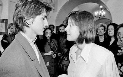 Monika Kern i Maciej Malisiewicz to bohaterowie pierwszego skandalu III RP. Na zdjęciu w 1993 r.