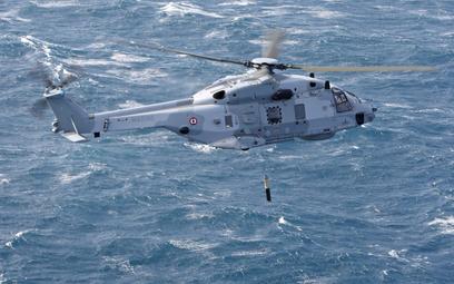 Śmigłowiec morski NH90NFH lotnictwa francuskiej marynarki wojennej. Fot./NHI.