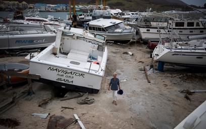 Irma będzie kosztować Francję 1,5 mld dolarów