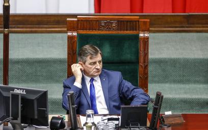 Jedną z osób, która miała zostać zarejestrowana na słynnych taśmach, miał być Marek Kuchciński, ówcz