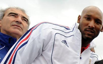 Raymond Domenech i Nicolas Anelka
