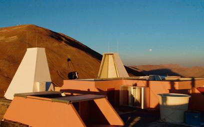 Obecny widok obserwatorium Cerro Armazones. Fot./materiały prasowe