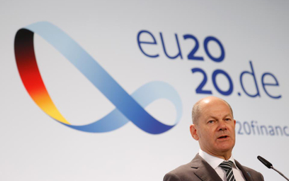 Olaf Scholz, minister finansów Niemiec