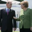 Angeli Merkel należy przynajmniej oddać, że wzięła na siebie ciężar negocjowania z Władimirem Putine