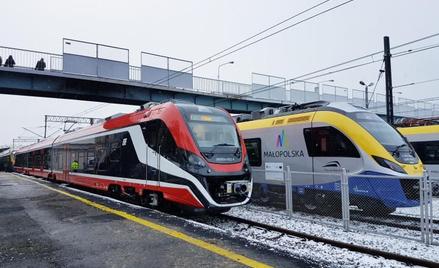 Nowoczesne składy początkowo będą jeździć między Wieliczką, Krakowem Głównym a lotniskiem w Balicach