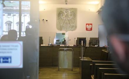 Sala rozpraw Sądu Najwyższego w Warszawie