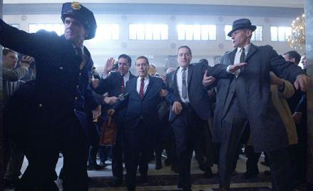 "Al Pacino i Robert de Niro w ""Irlandczyku"""