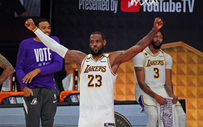 NBA: Lakers mistrzami, LeBron MVP finałów