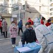Testy na COVID w prowincji Gansu