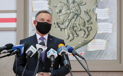 Prezydent Andrzej Duda: Wiele jest prób skłócenia Polaków i Białorusinów