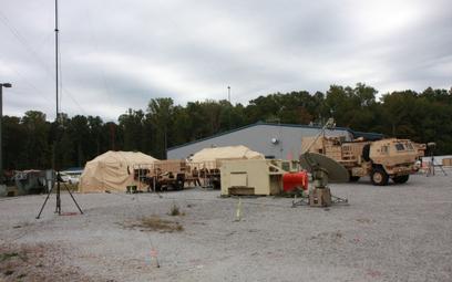 Prototypowy bateryjny zestaw systemu dowodzenia IBCS. Fot./Northrop Grumman.