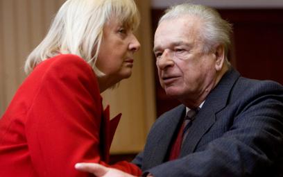 Maria i Czesław Kiszczakowie