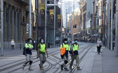 Koronawirus. Australia: Rekordowa liczba zakażeń mimo lockdownu