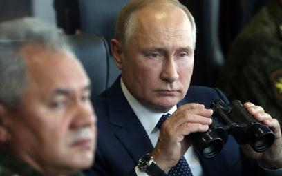 Władimir Putin osobiście obserwował manerwy Zapad-21