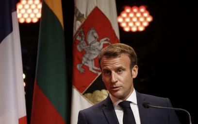 Emmanuel Macron: Zrobię wszystko, aby wesprzeć naród białoruski