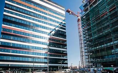 Silesia Business Park A i B w Katowicach. W budynku A działa już centrum usług wspólnych PwC (około
