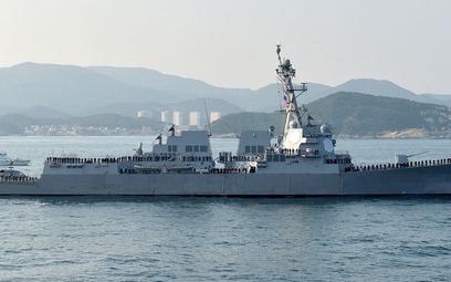 """Okręt USA w Cieśninie Tajwańskiej. """"Zagrożenie dla pokoju"""""""
