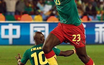 Vincent Aboubakar nie wykorzystał przed chwilą bramkowej okazji