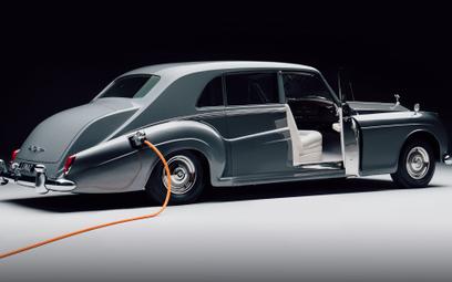 Elektryczny Rolls-Royce Phantom w wersji Lunaz Design