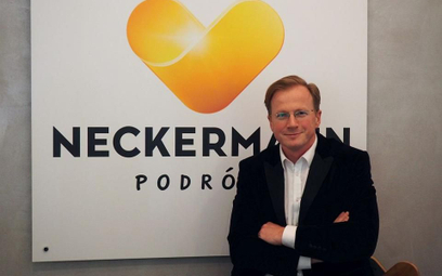 Maciej Nykiel, prezes spółki Neckermann Polska