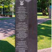 Pomnik ku czci gruzińskich oficerów kontraktowych służących wWojsku Polskim ipoległych podczas II