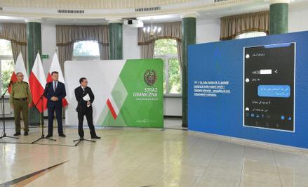 Konferencja ministra Mariusza Kamińskiego