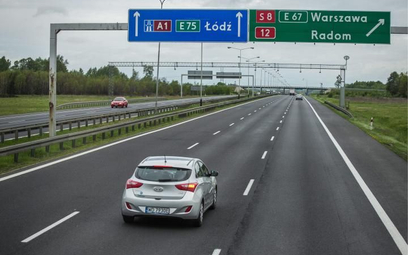 Istniejący fragment autostrady  A1 pod Piotrkowem Trybunalskim także zostanie przebudowany