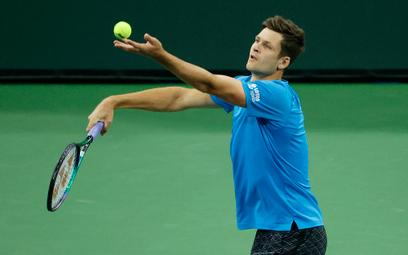 Tenis w Indian Wells: Hubert Hurkacz zagra w ćwierćfinale