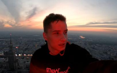 MoKOTowski o wejściu na Varso Tower: Na górze jestem szczęśliwy