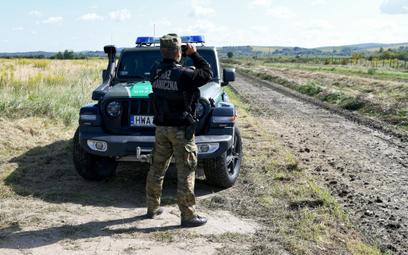 Próby nielegalnego przekraczania granicy z Białorusią. Nowe dane SG