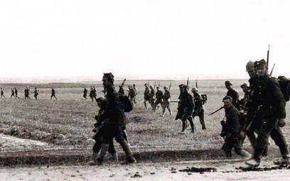 Polskie oddziały podczas batalii o Warszawę, sierpień 1920 r.