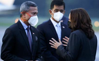 Wiceprezydent USA Kamala Harris w Singapurze