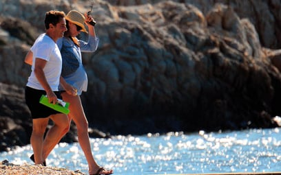 45-letnia Carla Bruni jest matką półrocznej dziewczynki
