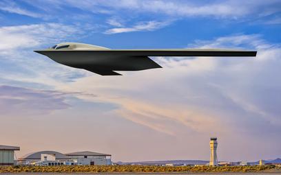 B-21A Raider nabiera kształtów. Nowa wizualizacja amerykańskiego bombowca