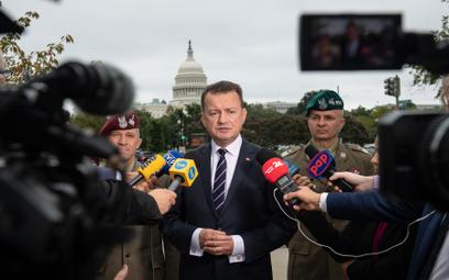 Minister Błaszczak z wizytą w USA. Pierwsze Abramsy za rok