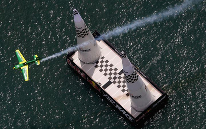 Windsor, Canada. Red Bull Air Race Day