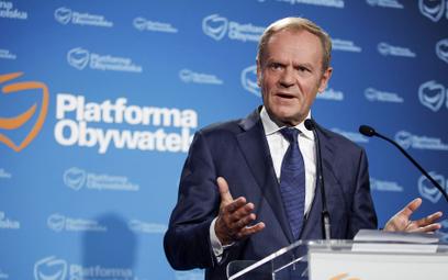 Donald Tusk: To nie Polska, tylko Kaczyński z PiS wychodzą z UE