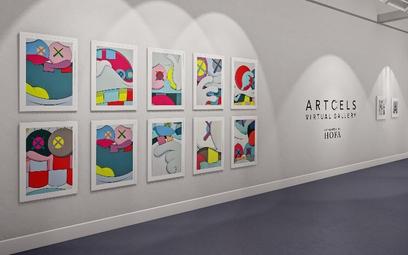 Banksy, Hirst, Koons na wirtualnej wystawie w Londynie