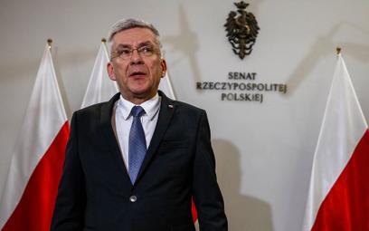 Karczewski: Większość w Senacie to obowiązek PiS